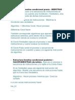 Resume Estructura Iterativa Condicional Previa Castro Ibañez Willams
