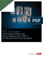 ABB Tmax UL Technical Catalog