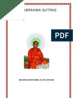 Para Brahma Sutras