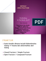 Ridhallah Open Fracture