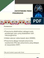 Pemberian Cefotaxime Pada Pneumonia