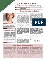 Newsletter Svenja Stadler 05 2018