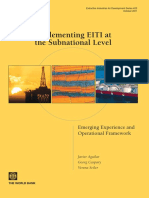 Implementing EITI Subnational Level