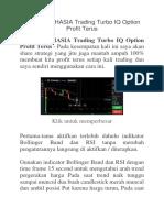 Trading Turbo IQ Option