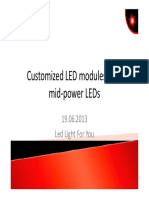 Cezos-Customized LED Modules With Mid-power LEDs