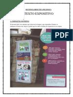 Actividades de Lengua Mayo Texto Expositivo