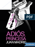 Juan Madrid - Adios Princesa