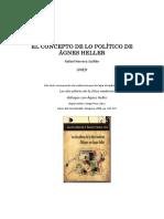El Concepto de Lo Político de Ágnes Heller