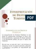 8. Interpretación de Destinos Turísticos (2)