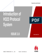 Introduction of H323 Protocol System Training Slides(V2.0)