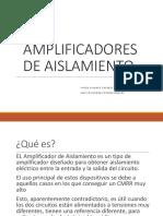 (Aa) Amplificador Aislador