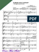 Theme From Ice Castles, String Quartet