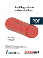 Selker R. 2013 - Local Buckling Collapse of Marine Pipelines