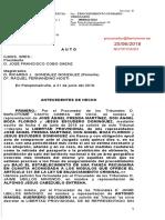TSNJ Auto Prision Condicional La Manada