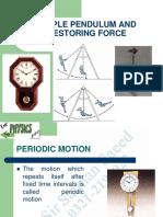 1. Pendulum