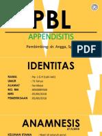 Pbl Appendicitis Arie