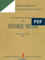 Studii Si Materiale de Istorie Medie 22 (2004)