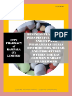 City Pharmacy of Kampala Uganda Ltd Business Plan 3rd December 2010