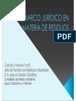 Marco jurídico en materia de residuos