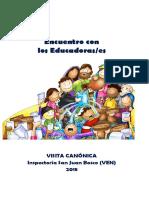 5. Educadores- Humanización, Diálogo, Esperanza.(Libretto)