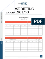 Training Log eBook