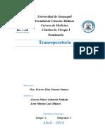 TRANSOPERATORIO - CIRUGÍA I - GRUPO 2 - SUBGRUPO 3 - GARCÍA Y LOOR.docx