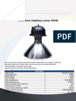 Induction Highbay Lamp 300w m2