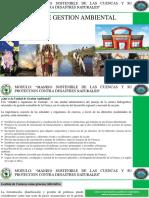Unidad de Gestion Ambiental Para El Manejo de Cuencas