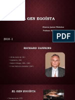 El Gen Egoísta, Richard Dawkins