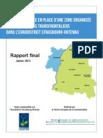 Rapport ZOAST Eurodistrikt 2013