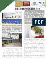 Graduacion 2005 - 2010