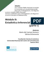 Cuadernillo Estadística Inferencial - Parte 1 - 2016