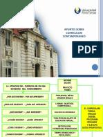 Curriculum y Planificacion 201120