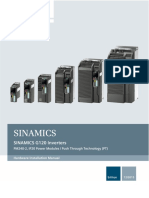 SIEMENS - G120 PM240-2_HIM Hardware Install Manual