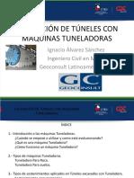 Excavación de Túneles Con Máquinas Tuneladoras