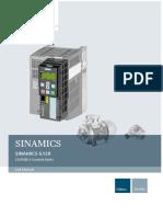 Siemens - g120 Cu250s-2 List Manual