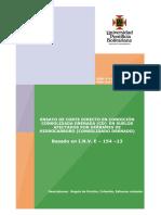 6. Ensayo de Corte Directo en Condición Consolidada Drenada (CD) en Suelos Afectados Por Derrames de Hidrocarburo (Consolidado Drenado)