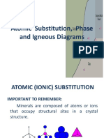 6 Petrology_Atomic Substitution, Phase and Igneous Diagrams
