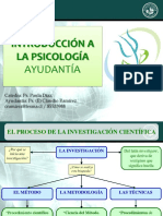 Ayudantia - Introduccion a La Psicologia