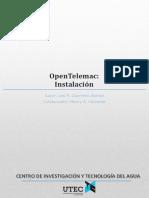 Instalación de Open Telemac