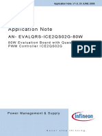 Infineon-ApplicationNote EvaluationBoard 80W SMPS QR PWM Controller ICE2QS02G -An-V01 00-En