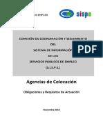 7. Agencias de Colocacion SISPE Obligaciones de Las AC Noviembre 2016