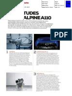 "NOVO ALPINE A110 NA ""TURBO"""