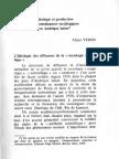 Verón - Idéologie Et Production de Connossainces Sociologiques en Amerique Latine