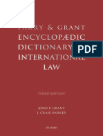 Encyclopedic Dictionary of International Law