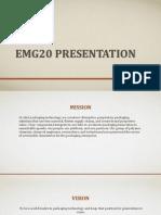 EMG20 ppt