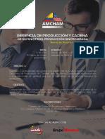 Curso Gerencia de Producción y Cadena de Suministro en Ambato