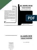 Procesos de la investigación, el análisis