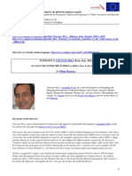 An Analysis after Summit on MDGs 2010 - Vincenzo Pira