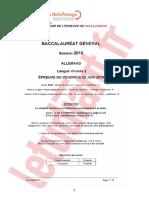 Bac Es-s-l 2018 Lv2 Allemand Corrige